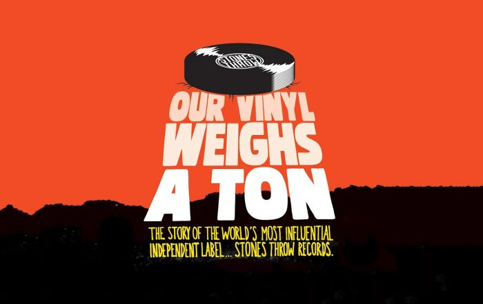 our vinyl weights a ton stones throw